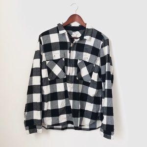 J. Crew•Plaid Pullover half zip